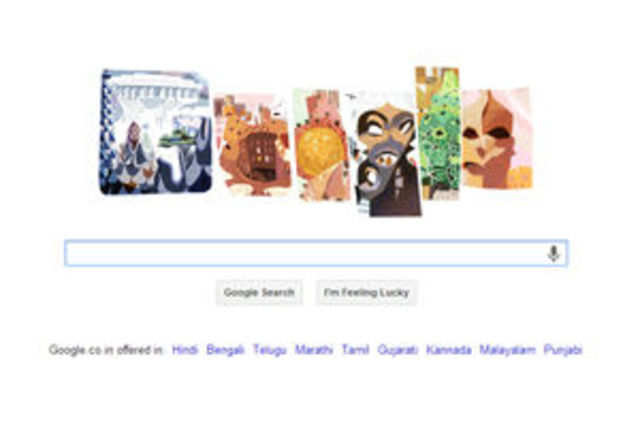 Google on Tuesday marked the 161st birth anniversary of Antoni Gaudí with a doodle.
