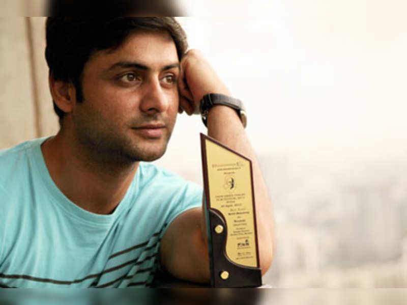 Rohit Bharadwaj got his first award as an actor