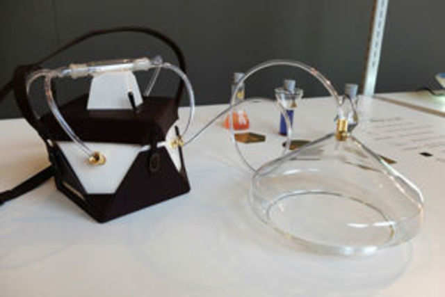 The gadget, called Madeleine, is the invention of designer Amy Radcliffe at Central Saint Martins.