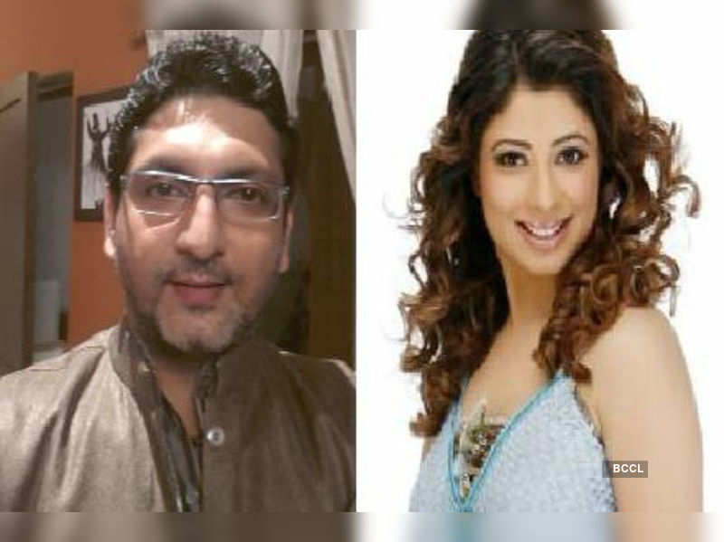 """Malini Kapoor and Saptrishi<a href=""""http://photogallery.indiatimes.com/tv/shows/love-stories-pulling-up-trps-on-tv/Love-stories-pulling-up-TRPs-on-TV/articleshow/18478695.cms"""" target=""""_blank"""">More Pics</a>"""