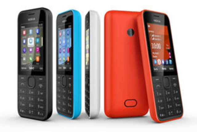 Nokia today unveiled three 3G-enabled feature phones, named 207, 208 and 208 dual-sim.