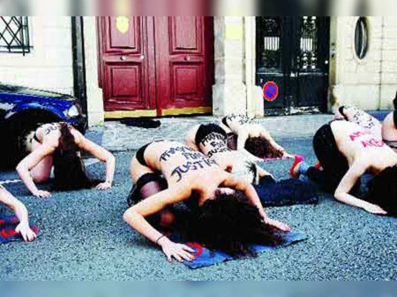Nude protests on the rise, but do they work?