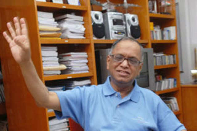 Infosys' first earnings announcement after the return of N R Narayana Murthy is expected to put the retired cofounder under a sharp spotlight.