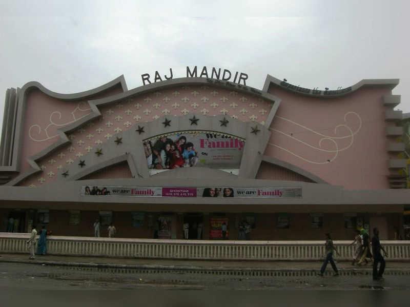 Raj Mandir theatre in Jaipur