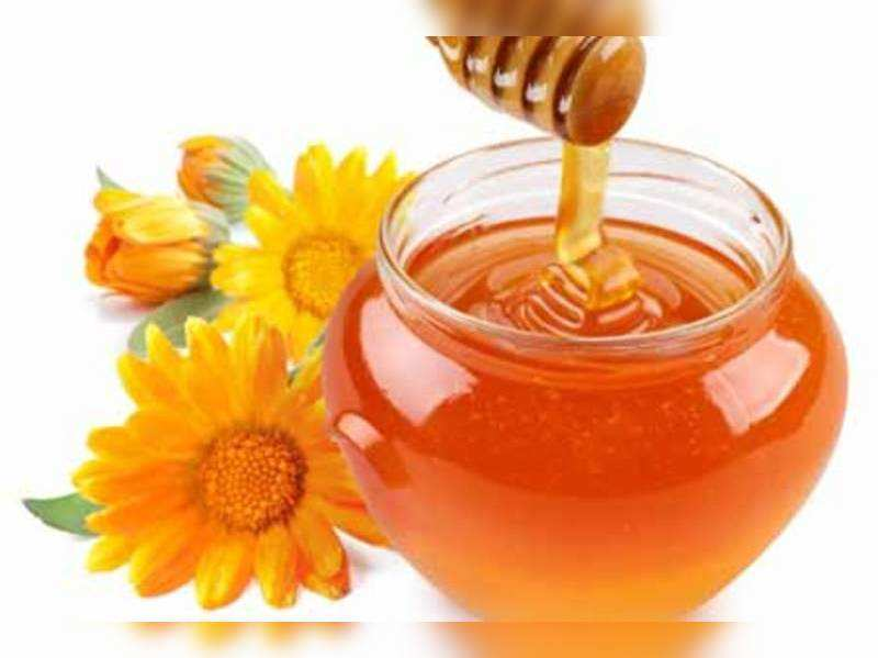 Honey for a glowing complexion - Times of India