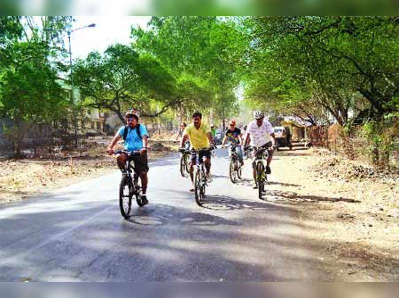 Now, a cycle track for Nashik cycling enthusiasts