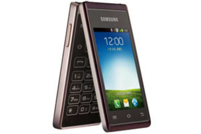 Samsung's new W789 features the old-school flip phone design with dual touchscreens.