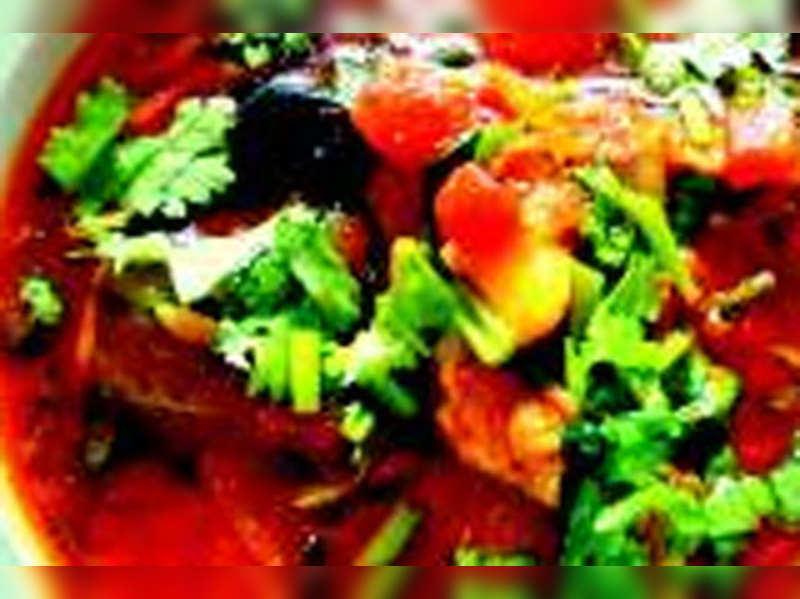 Hiten Tejwani's Bombay duck curry