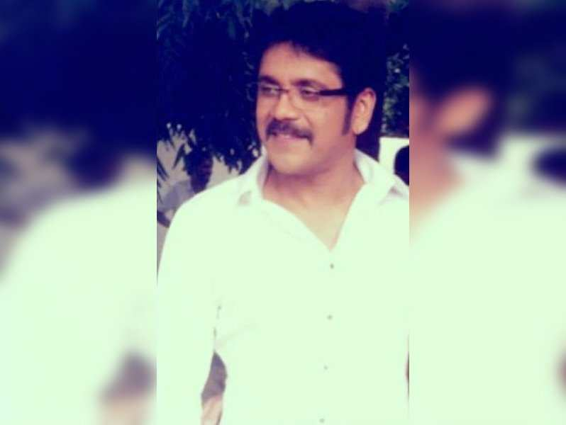 Nagarjuna's new look for Manam