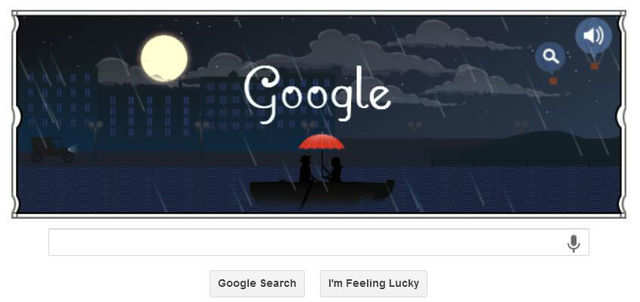 Google remembers Achille-Claude Debussy, a French composer of impressionist music, with an animated doodle.