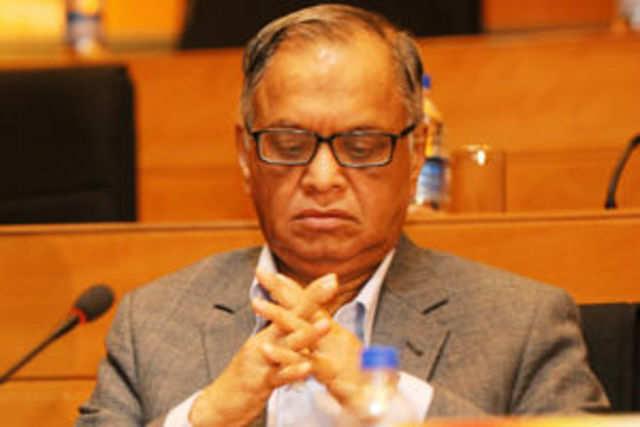 Infosys chairman NR Narayana Murthy.