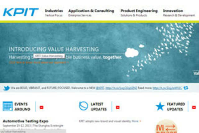 Pune-based IT consulting and product engineering company KPIT Cummins Infosystems has announced a new corporate identity and logo.