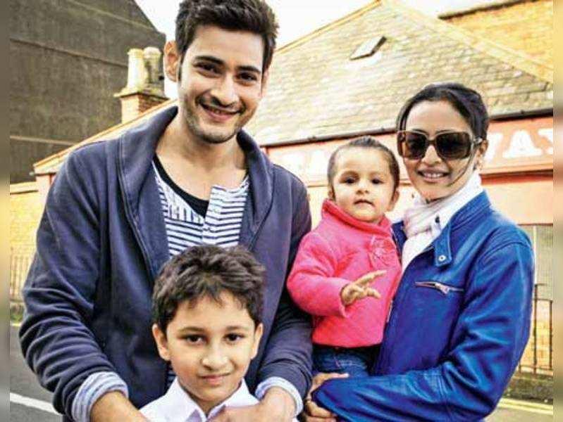 Gautam Krishna brought Ganapati home: Namrata | Telugu Movie News - Times of India