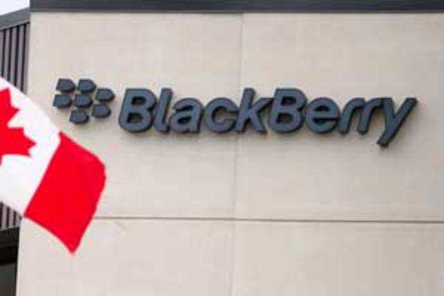 The share of services and software in Blackberry's India revenues is expected to go up to 40% in about one year from the 30% now.