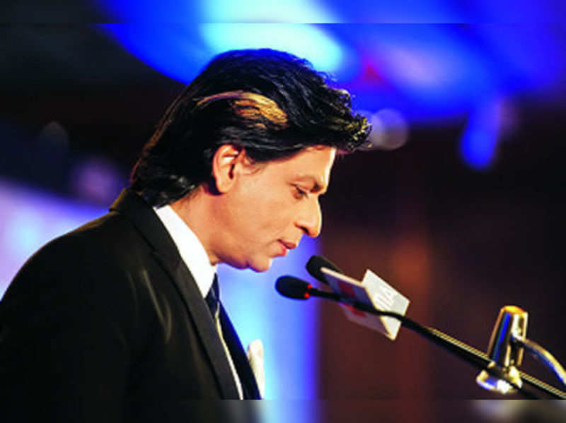 Srk S New Look For Happy New Year Hindi Movie News Times Of India