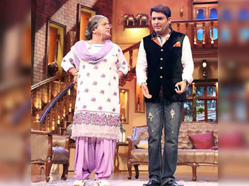 Fire forces Kapil Sharma to move into dadi's house