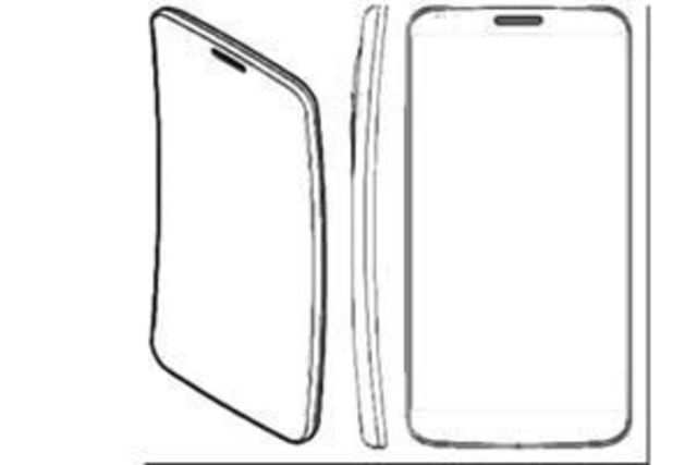 LG is working on a 6-inch curved smartphone (as shown in the concept sketch image developed by CNET), which the company plans to launch next month.(Image courtesy: CNET)
