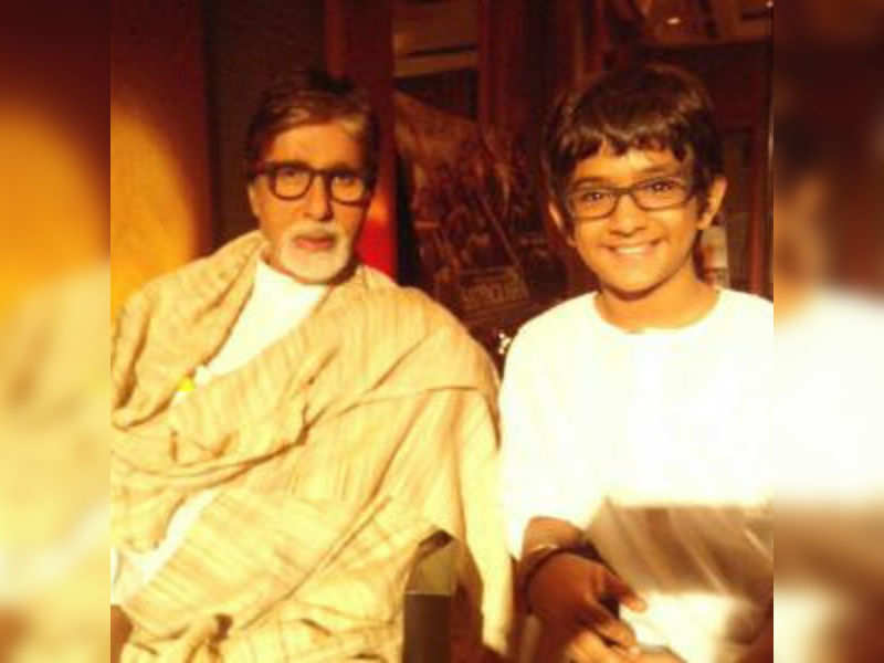 When 'Veera' boy Bhavesh asked questions to Big B