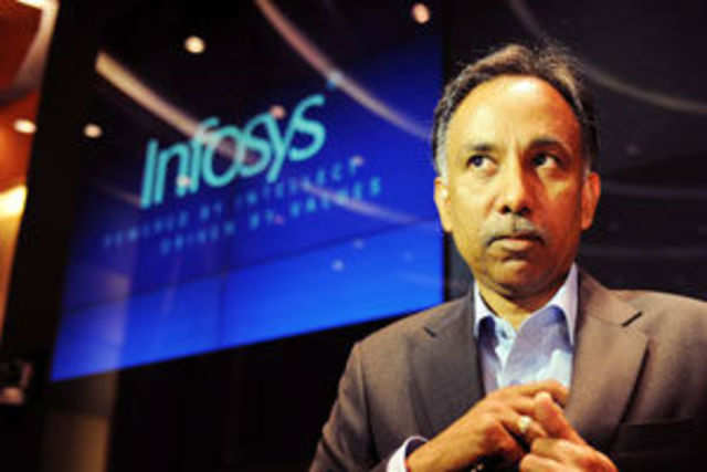 Infosys added 68 new clients, just two more than what it did in the prior sequential quarter.
