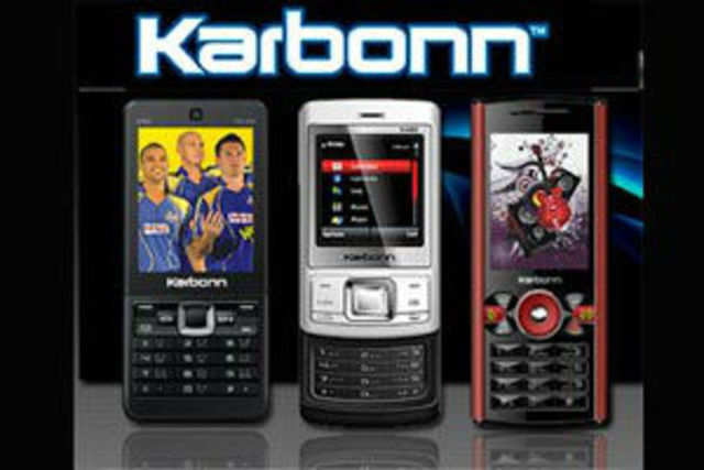 Karbonn launched four 2G and 3G-enabled smartphones in the Rs 5,500-7,500 range.