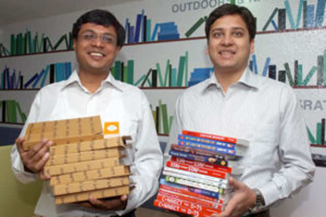 India's e-commerce poster boys are flaunting their million-dollar paychecks in less than six years after starting Flipkart.