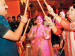 Celebs Enjoy Dandiya