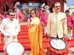Durga Puja celebrations at Sahara Shaher