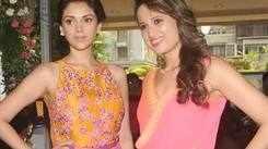 Aditi Rao Hydari inaugurates 'Glitter 2013'