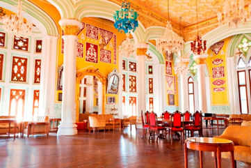 Inside the Bangalore Palace