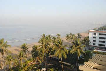 The Mumbai skyline