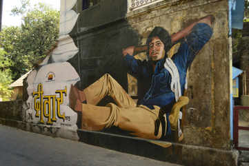 Mural in Bandra