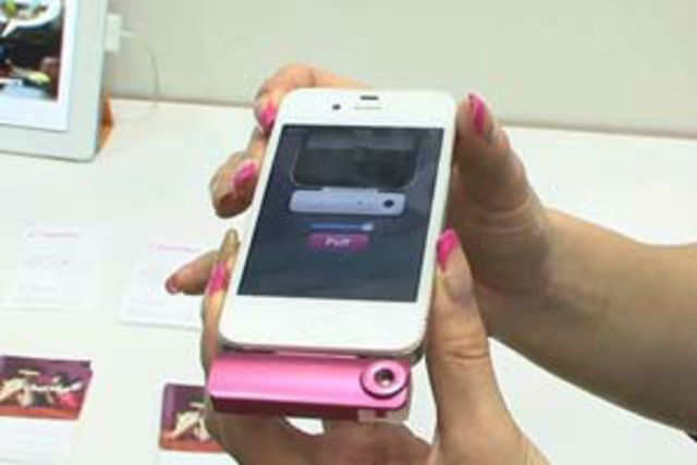 A new smartphone accessory that releases smells like mint and apple when you get a notification or text has been developed.