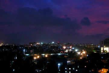Pune by night