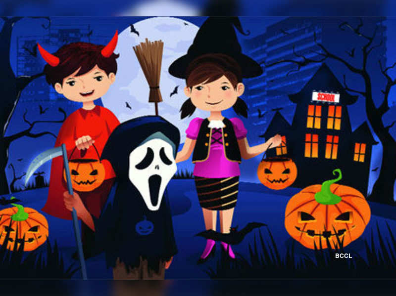 Ggn schools to be full of spooks for Halloween!