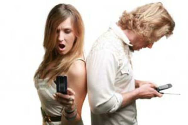 Texting may not be the best way for couples to solve disagreements, apologise or have serious conversations, a new study has found.