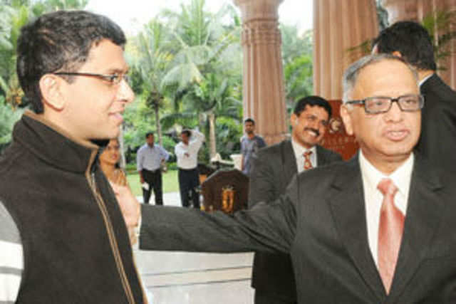 Rohan Murty won't carry the additional designation of vice president as was speculated earlier.