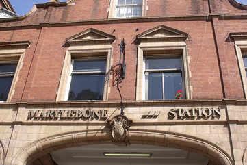 Marylebone Underground Station