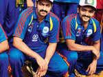 Stars at a cricket tournament