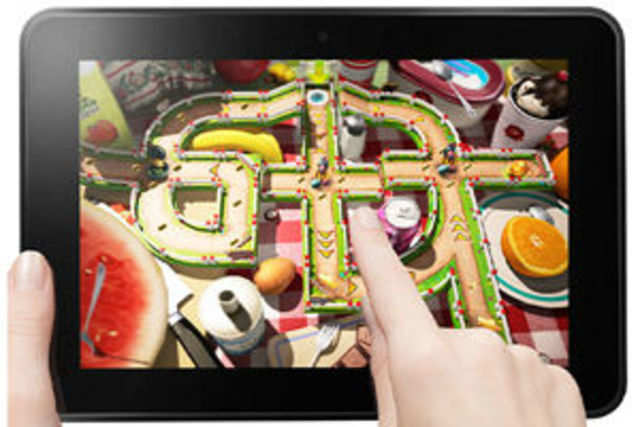 Amazon has slashed the prices of its Kindle Fire HD 8.9 tablet in India.