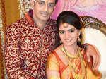 Sahil Vidhate and Radhika Guram's wedding party