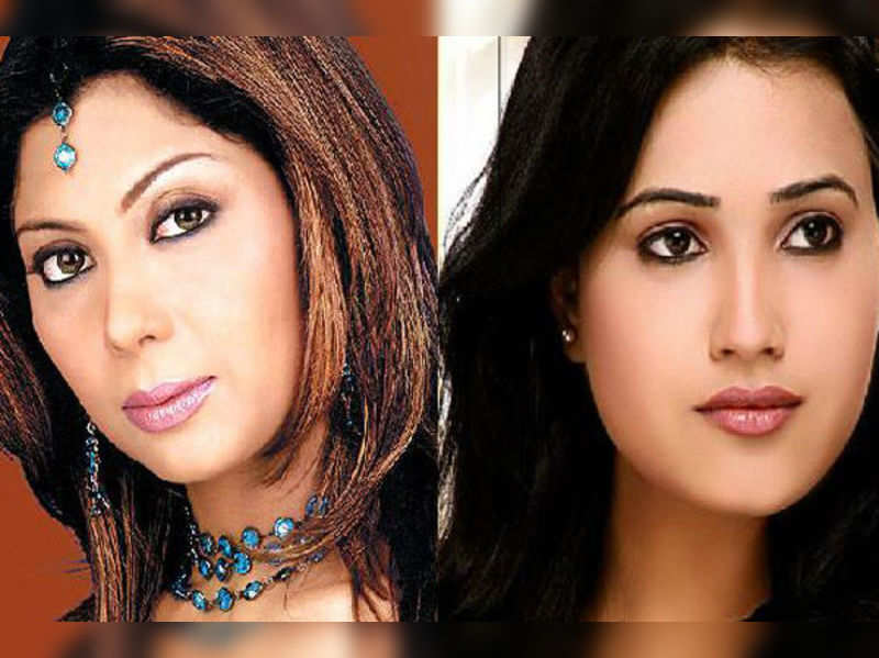 Maninee Mishra & Preeti Chaudhary in DABH