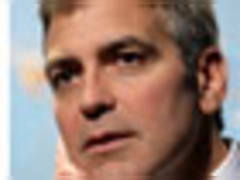 Clooney lied for his first role!