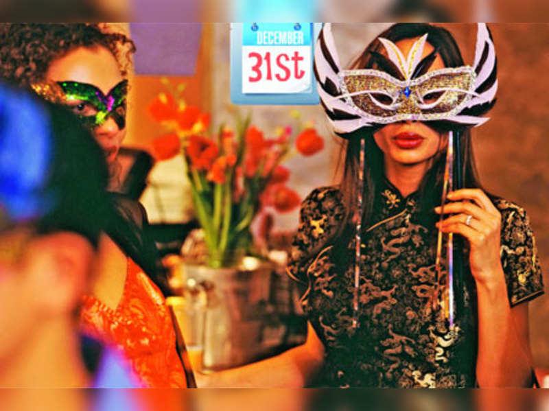 Delhi's New Year house parties get fancier