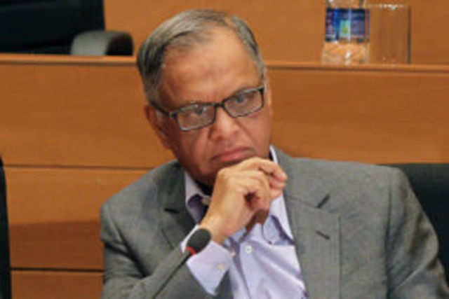 Infosys chairman NR Narayana Murthy has sent out a clear message to the two newly-elevated presidents of the company.