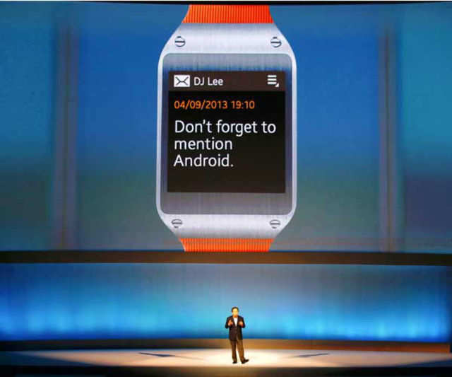 Samsung has cut the price of Galaxy Gear, its first smartwatch, in the country, from Rs 22,990 to Rs 19,075.