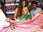 Lakshmi Rai inaugurates Shree Nikethan