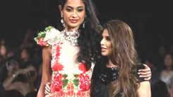 Neil Nitin Mukesh, Sarah Jane Dias walk the ramp at India Kids Fashion Week