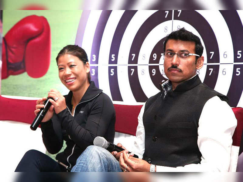 Mary Kom urges women to take up sports in Kolkata