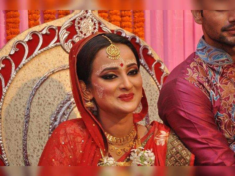 Madhabilata Mitra gets hitched to Bhupesh Gupta in Kolkata
