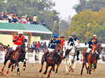 Exhibition polo match